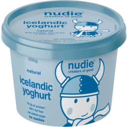 Photo of Nudie Icelandic Yoghurt - Natural 500gm