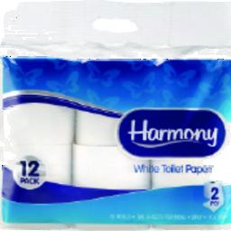 Photo of Harmony Toilet Roll 2ply 12pk