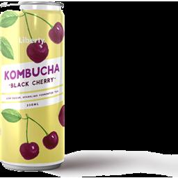 Photo of Liberty Kombucha Black Cherry 330ml