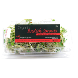 Photo of Sprouts Radish Energetic Greens 50g