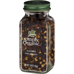 Photo of Simply Organic Certified Organic Crushed Hot Red Pepper