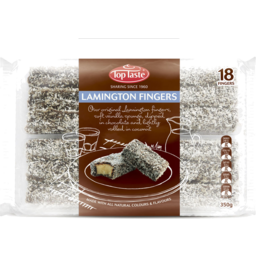 Photo of Top Taste Lamington Fingers 18pk 350g