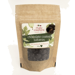 Photo of Rhuby Creations Chocolate Coated Coffee Beans 125gm