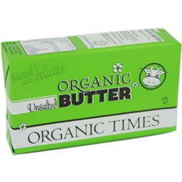 Photo of Organic Times - Butter - Unsalted - 250g