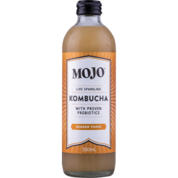 Photo of Mojo Classic Kombucha Ginger Tonic 330ml