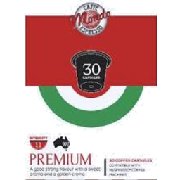 Photo of Cafe Mondo Capsules Premium 30 Pack compatible with Nespresso  Machines