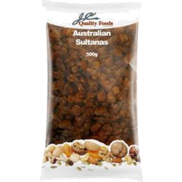 Photo of JC's Sultanas 500g