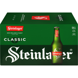 Photo of Steinlager Classic 330ml Bottles 24 Pack