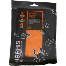 Photo of Harris Smoked Ocean Trout 100gm