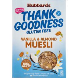 Photo of Hubbards Gluten Free Thank Goodness Vanilla Muesli 350g