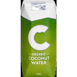 Photo of C Organic Coconut Water 330ml