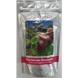 Photo of Mountainvale Frozen Raspberries 250gm