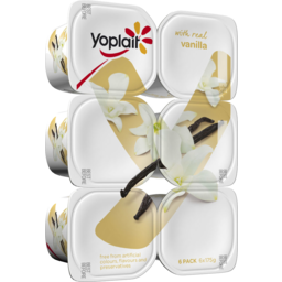 Photo of Yoplait Vanilla 6x175g