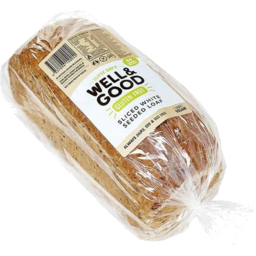 Photo of Well and Good Sliced Seed Bread Lrg Loaf G/F 750g