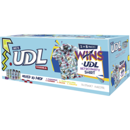 Photo of Udl Vodka Mixed Can