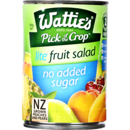 Photo of Watties Canned Fruit Salad Lite With No Added Sugar 400g 400g