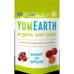 Photo of Yum Earth Organics Lollypop Sour 85g