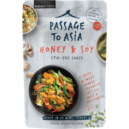 Photo of Passage To Asia Honey Soy Stir Fry Sauce 200g