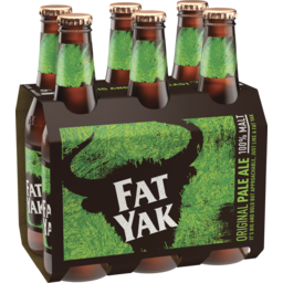 Photo of Yak Ales Fat Yak Original Pale Ale 6 X 345ml Bottles