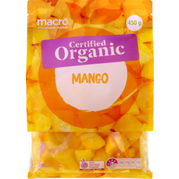 Photo of Macro Organic Frozen Mango 450g