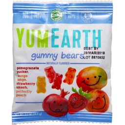 Photo of Yum Earth Gummy Bears