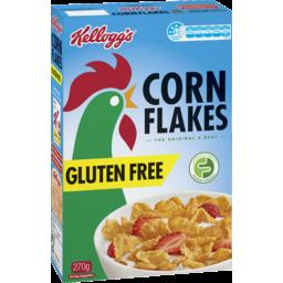 Photo of Kellogg's Kelloggs Corn Flakes Gluten Free 270g