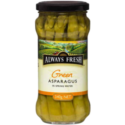 Photo of Always Fresh Green Asparagus In Spring Water 340gm