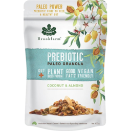 Photo of Brookfarm Prebiotic Paleo Granola - Coconut & Almond