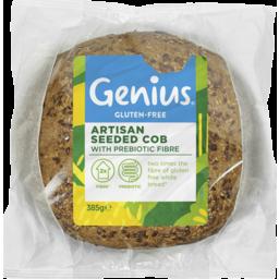 Photo of Genius Gluten Free Genius Gluten Artisan Seeded Cob 385g