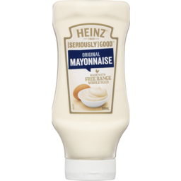 Photo of Heinz Seriously Good Mayonnaise Original Squeezy 500ml
