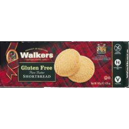 Photo of Walkers Gluten Free Butter Shortbread 140gm