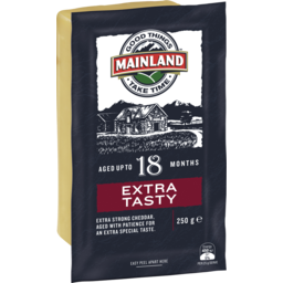 Photo of Mainland Extra Tasty Cheddar Cheese 250 G