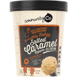 Photo of Community Co Ice Cream Salted Caramel 1l
