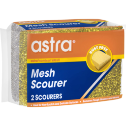 Photo of Astra Mesh Scourer 2 Pack