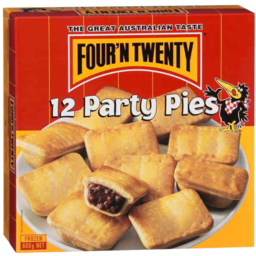 Photo of Four'n Twenty Party Pies 600g 12 Pack