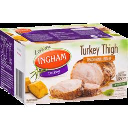 Photo of Ingham Turkey Thigh Traditional Roast 1kg