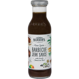Photo of Barkers Sauce BBQ Jerk 330g