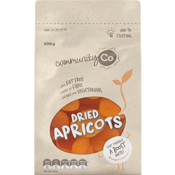 Photo of Community Co. Apricots Dried 200g