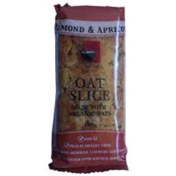 Photo of All Nat Bakery Oat Slice Apricot Almond 100 G