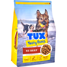 Photo of Purina Tux Bites Dog Food Tasty Beef 3kg