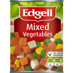 Photo of Edgell Vegetables Mix 420g