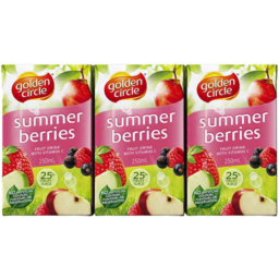 Photo of Golden Circle Summer Berries 6 X 250ml