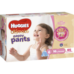 Photo of Huggies N/Pants Girl Sz 6 46s