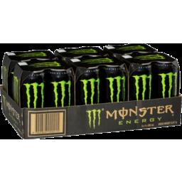 Photo of Monster Energy 4x500ml