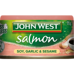 Photo of John West Salmon Tempters Soy Garlic Sesame 95gm