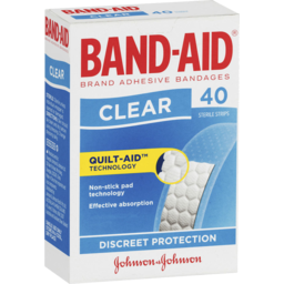 Photo of Band-Aid Clear Strips 40 Pack