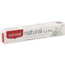 Photo of Red Seal Toothpaste Natural Sls Free Mild Minty Flavour 110g