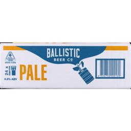 Photo of Ballistic Pale Ale Can