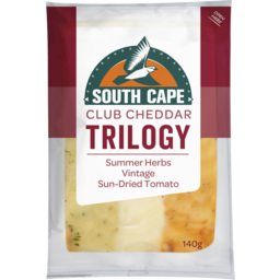 Photo of South Cape Trilogy Summer Herbs Vintage Cheese 140g