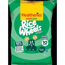 Photo of Healtheries Kidscare Snack Foods Rice Wheels Roast Chicken 180g 180g